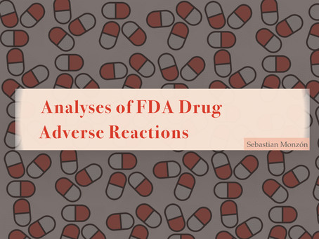 PROJECT: Analyses of FDA Drug Adverse Reactions
