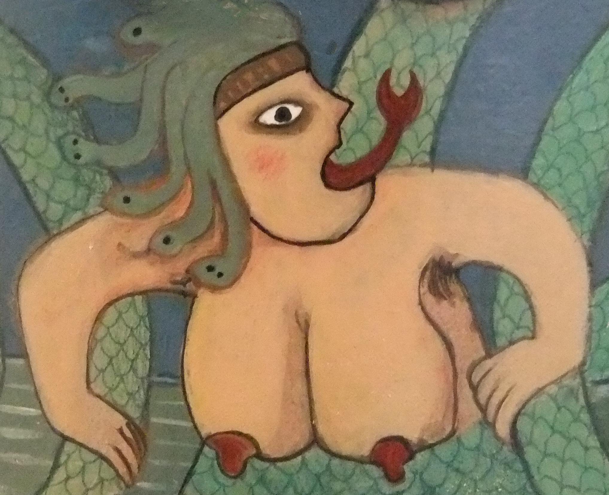 femme-serpent