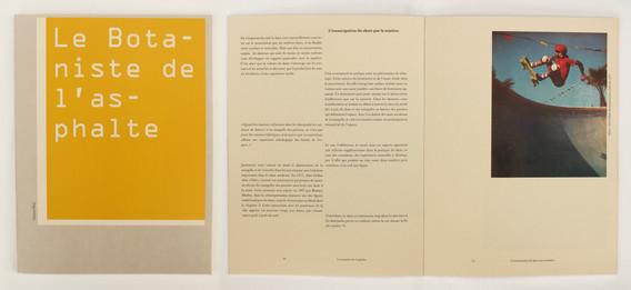 book of Botaniste de l'asphalte