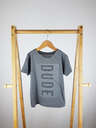 Primark dude t-shirt 3-4 years