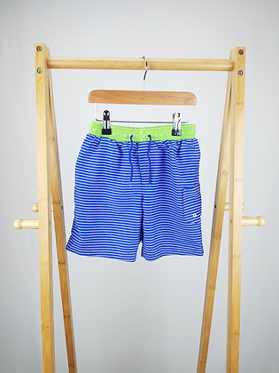 H2O swim striped shorts 5-6 years