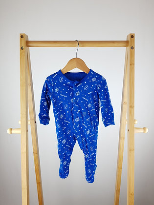 George blue sleepsuit 0-3 months