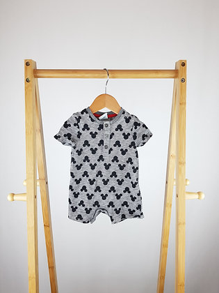 Disney Mickey Mouse romper 0-3 months