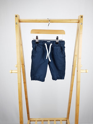 F&F navy shorts 2-3 years
