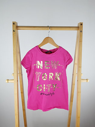 George pink t-shirt 9-10 years