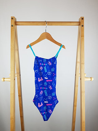 George blue swimsuit 5-6 years