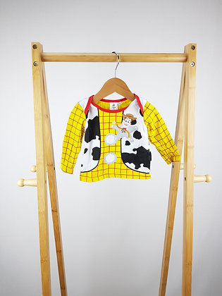 Disney Toy story long sleeve top 0-3 months