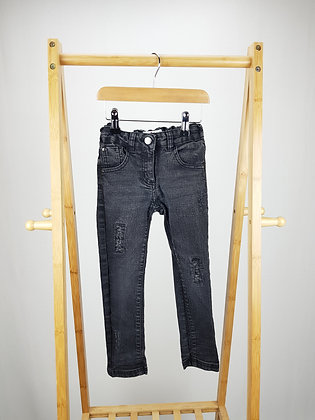 Lily & Lola black denim jeans 5-6 years