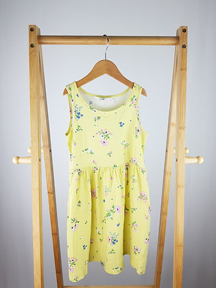 H&M yellow floral dress 6-8 years