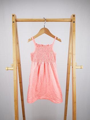 George neon pink dress 3-4 years
