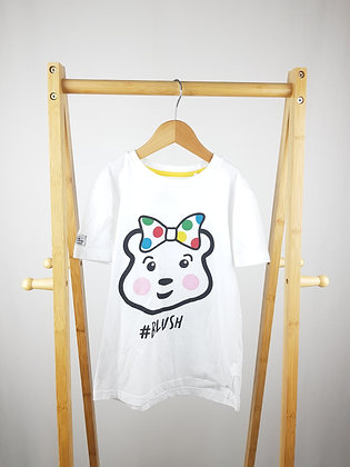 Debenhams Pudsey t-shirt 7-8 years