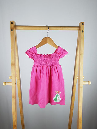 George pink pear dress 9-12 months