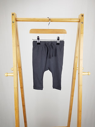 H&M grey bottoms 4-6 months