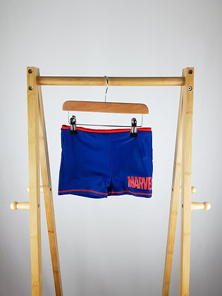 Marvel blue swimming trunks 7-8 years