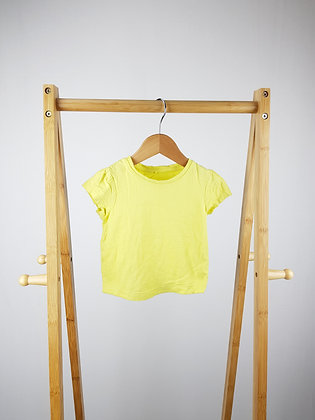 George yellow t-shirt 12-18 months