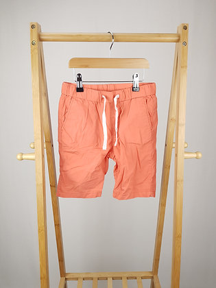 H&M coral  shorts 6-7 years