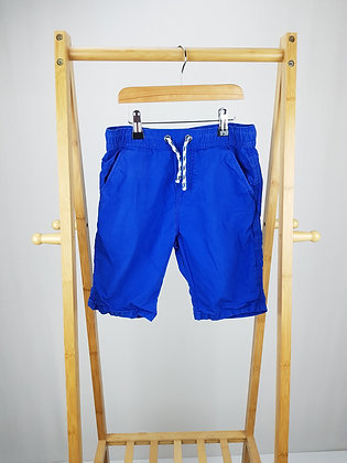 M&S blue shorts 9-10 years
