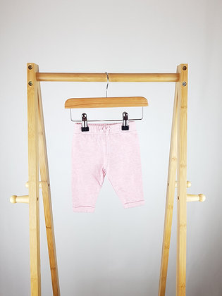 George pink joggers 0-3 months