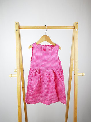 Young dimension pink spotted top 4-5 years playwear