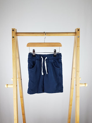 M&S navy shorts 3-4 years