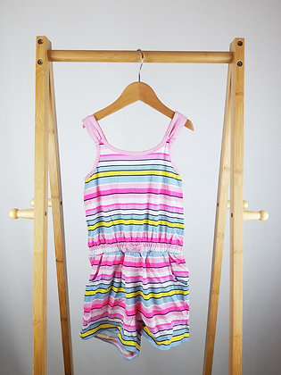 George striped playsuit 5-6 years