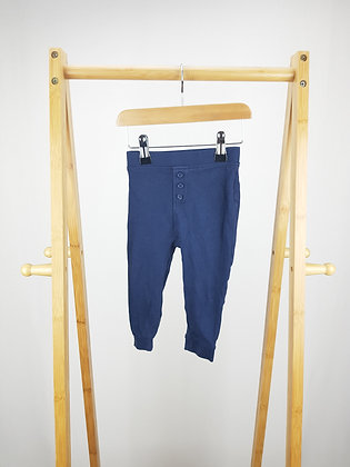 George blue buttoned bottoms 12-18 months