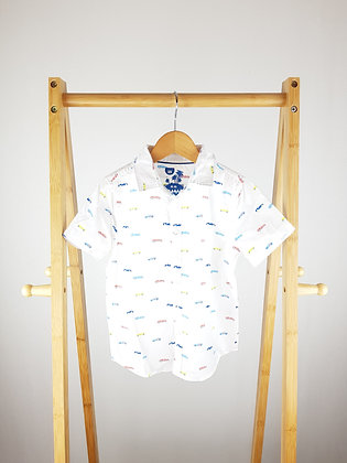 F&F car print shirt 4-5 years