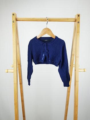 George navy sequin bolero cardigan 3-4 years