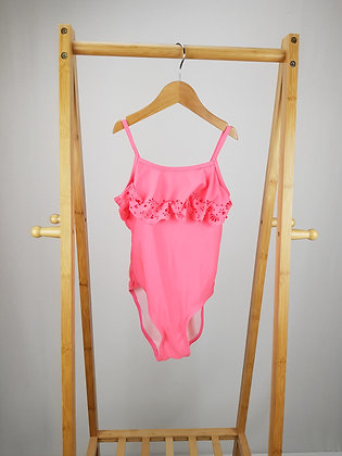 Miss Evie neon pink swimsuit 7-8 years
