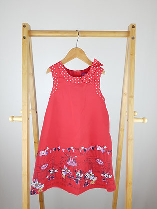 Disney at George Minnie Mouse dress 5-6 years