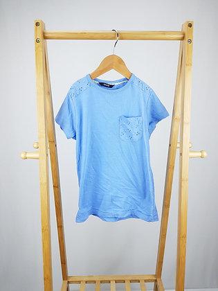 George blue t-shirt 9-10 years
