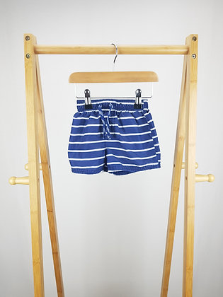 George striped shorts 12-18 months