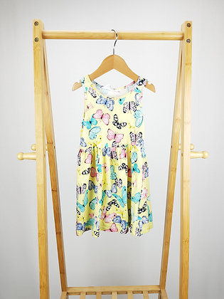 H&M butterfly dress 2-4 years