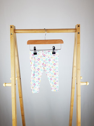 Early days floral leggings 0-3 months