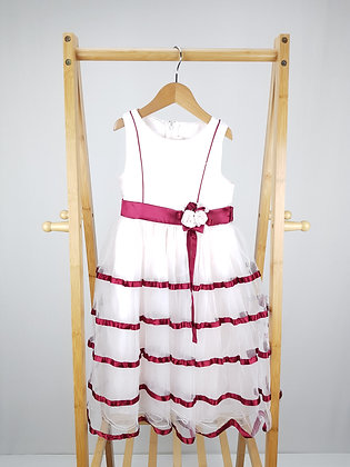 Butterfly wings occasion dress 5-6 years