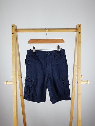 M&S navy shorts 7-8 years
