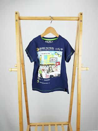 Matalan navy t-shirt 6 years