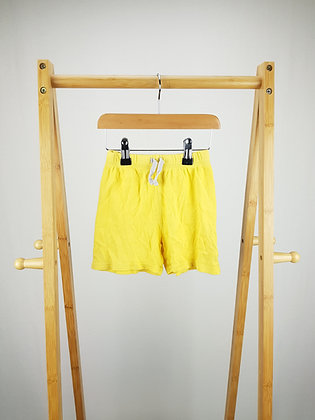 George yellow shorts 18-24 months