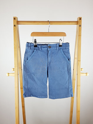 F&F blue shorts 9-10 years