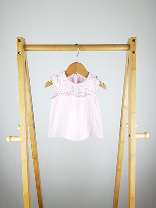 George light pink top 0-3 months