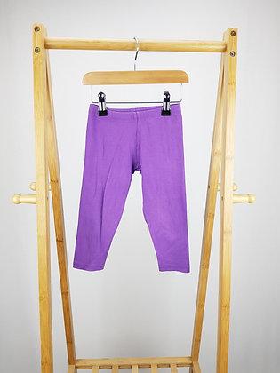 John Lewis purple leggings 3 years