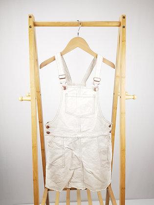 F&F denim pinafore dress 12-13 years