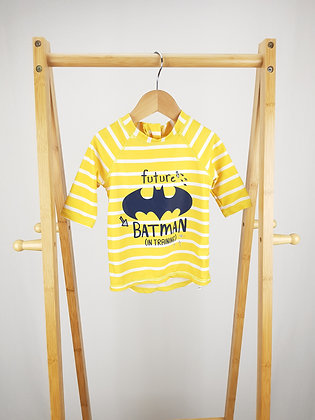 George Batman swimming top 12-18 months
