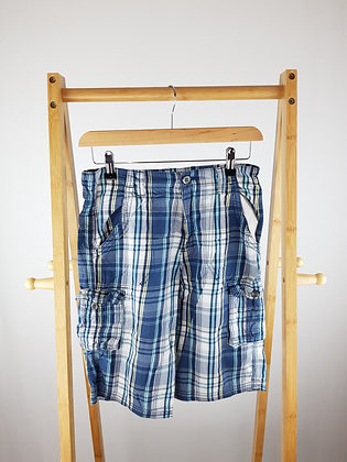 George blue shorts 11-12 years