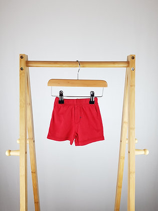George red shorts first size
