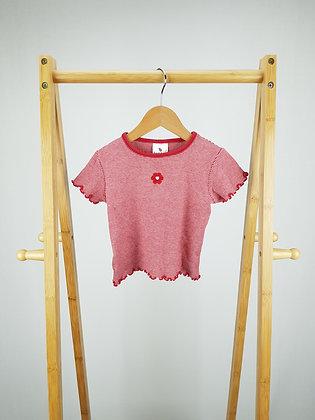 Ladybird striped red t-shirt 12-18 months