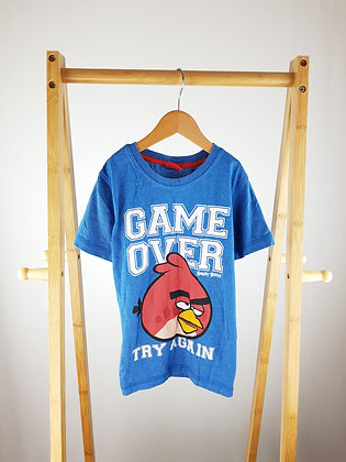 George Angry birds t-shirt 6-7 years