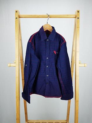Apple navy long sleeve shirt 8 years