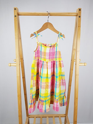 Bluezoo checked dress 6 years