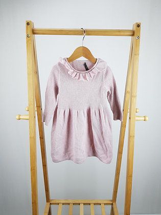 George long sleeve knitted dress 12-18 months